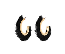 THE JOLIN EARRINGS - BLACK