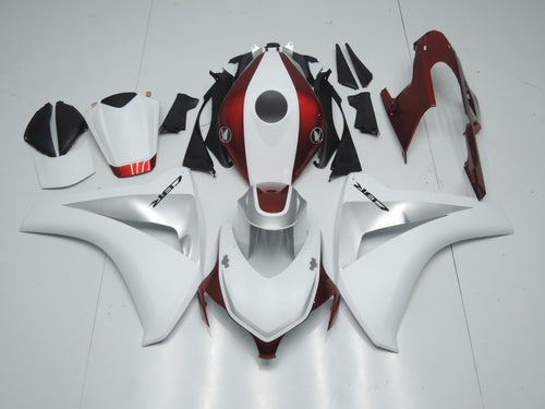 CBR1000RR 2008 2011 CANDY RED WHITE AND SILVER