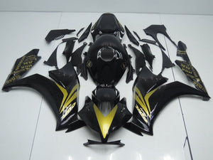 CBR1000RR 2012 2014 GLOSS BLACK AND GOLD