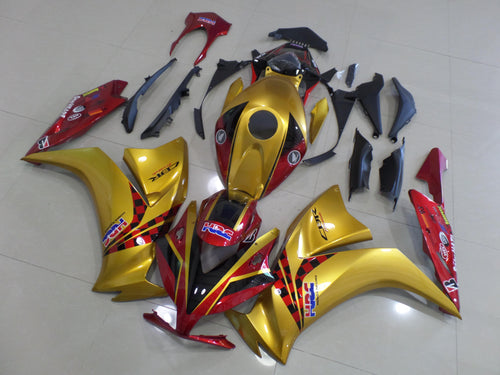 CBR1000RR 2012 2014 GOLD AND DARK RED