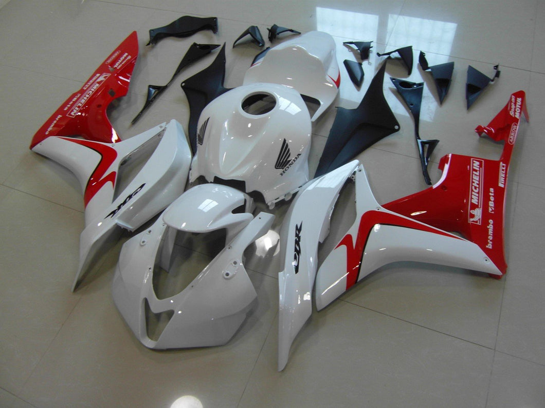 CBR600RR 2007 2008 WHITE RED RACE VERSION