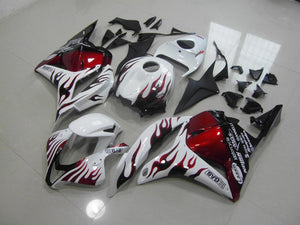 CBR600RR 2009 2012 RED BLACK FLAME