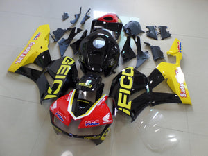 CBR600RR 2013 2014 YELLOW AND BLACK GEICO