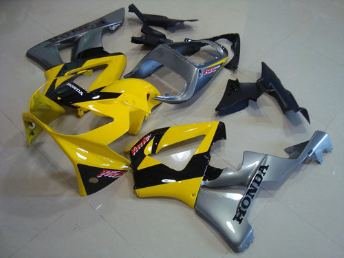 CBR900RR 929 2000 2001 YELLOW BLACK SILVER 3
