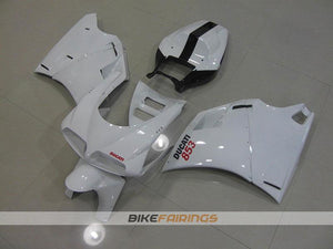 DUCATI 748 916 996 1998 2002 WHITE NUMBER 853