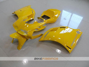 DUCATI 748 916 996 1998 2002 YELLOW OEM WITH SILVER STICKER