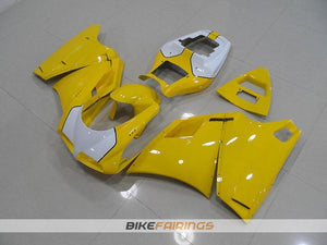 DUCATI 748 916 996 YELLOW AND WHITE TAIL OPEN