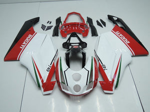 DUCATI 749 999 2003 2004 WHITE RED WITH TAIL OPEN