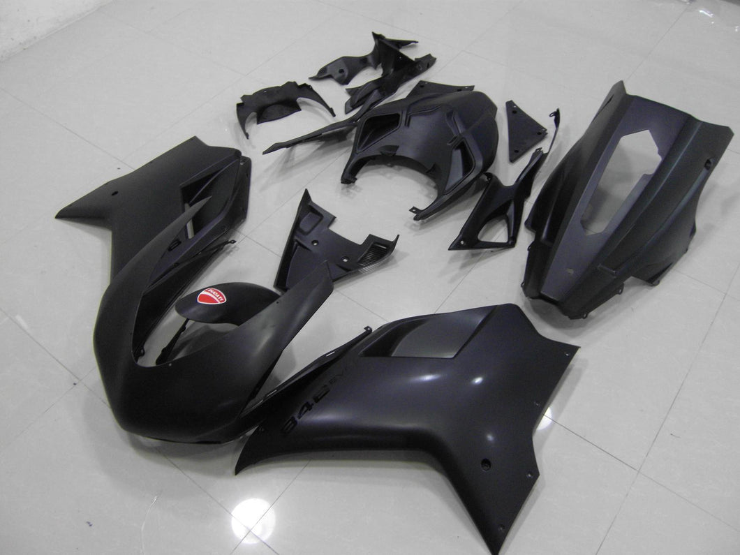 DUCATI 848 1098 1198 2007 2012 MATT BLACK RACING VERISION