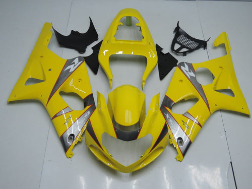 GSX R1000 2000 2002 YELLOW AND GREY