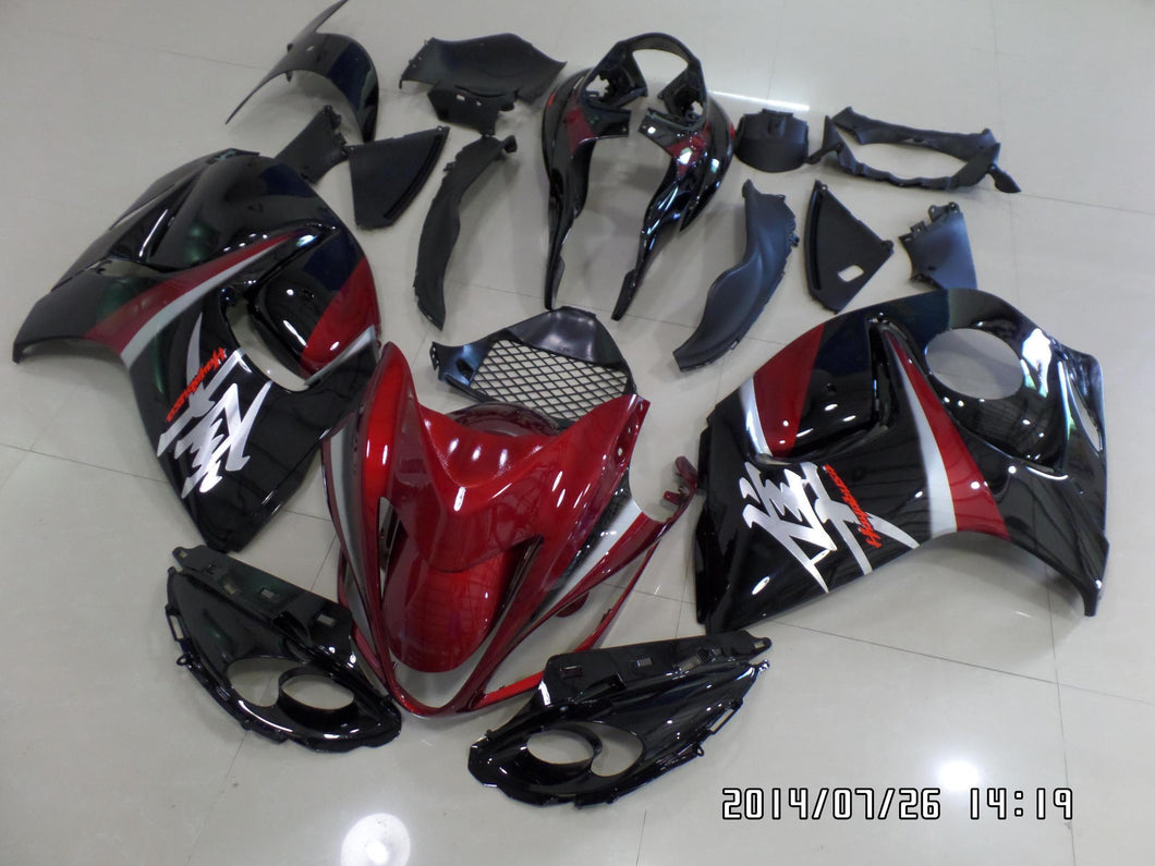 GSX R1300 HAYABUSA 2008 2016 RED BLACK SILVER