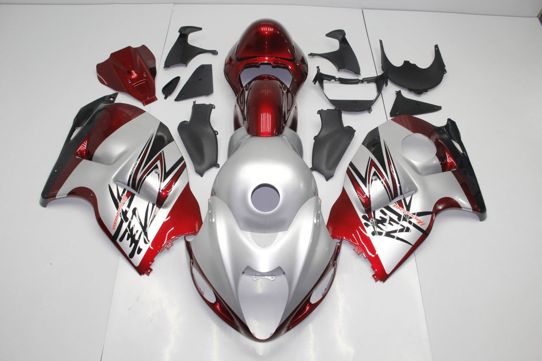 GSX R1300 HAYABUSA 1999 2007 RED AND SILVER B