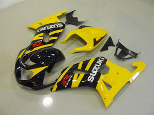 GSX R750 600 2001 2003 YELLOW AND BLACK