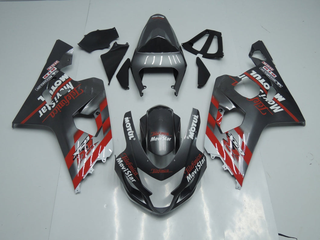 GSX R750 600 2004 2005 GREY AND RED