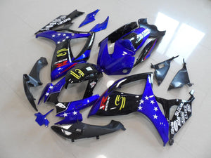 GSX R750 600 2006 2007 BLUE WHITE STAR