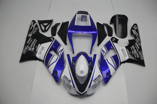 R1 1998 1999 BLUE WHITE YAMALUBE