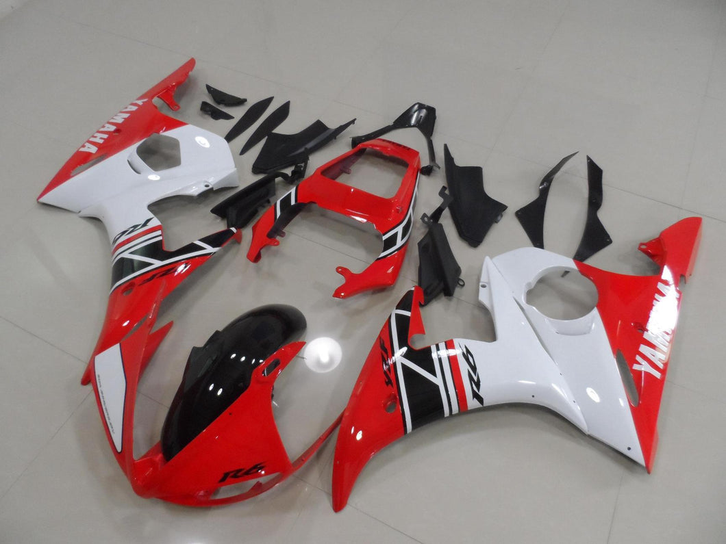 R6 2003 2005 RED AND WHITE AND BLACK