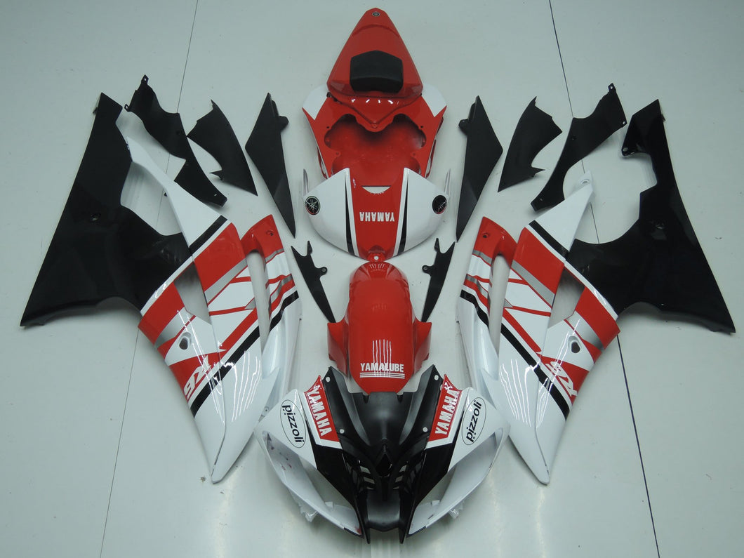 R6 2008 2016 RED AND WHITE AND BLACK 2