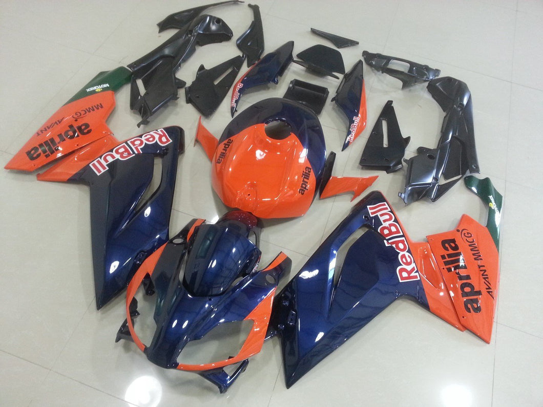RS125 2006 2011 ORANGE AND DARK BLUE