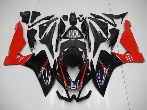RSV4 2009 2015 BLACK AND RED OEM WITH NO LOGO