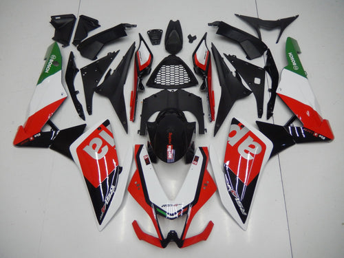 RSV4 2009 2015 RED BLACK WHITE