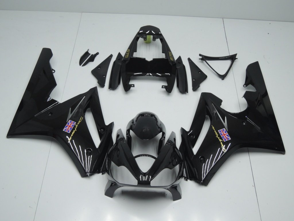 TRIUMPH DAYTONA 675 2006 2008 ALL GLOSS BLACK