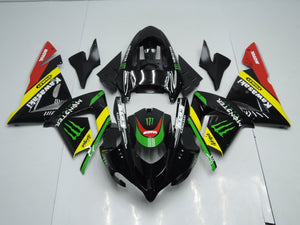 ZX 10R 2004 2005 BLACK YELLOW MONSTER