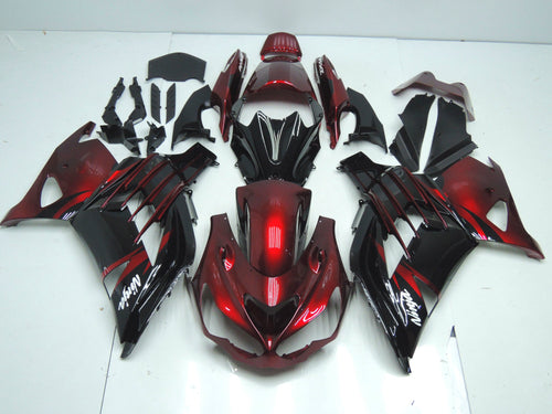 ZX 14R 2012 2014 CANDY RED BLACK