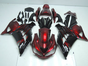 ZX 14R 2012 2014 RED AND BLACK