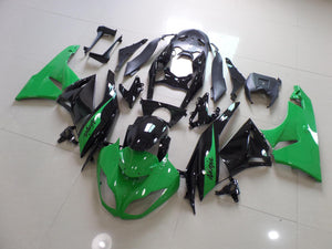 ZX 6R 2009 2012 GREEN AND BLACK 2