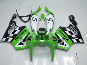 ZX 7R 1996 2002 GREEN BLACK AND WHITE