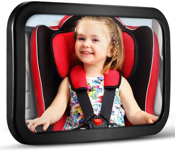 Baby Car Mirror Safely Monitor Infant Child in Rear Facing Car Seat, Wide View