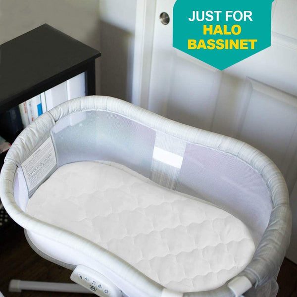 Bassinet Mattress Cover Compatible with Halo Bassinest Swivel Sleeper