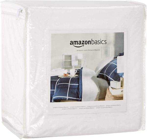 Fully-Encased Waterproof Mattress Cover Protector, Queen, Standard 12 to 18-Inch Depth