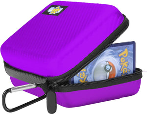 Totem Word 200+ Card Zipper Case Organizer - Compatible with Pokemon, Yu-Gi-Oh