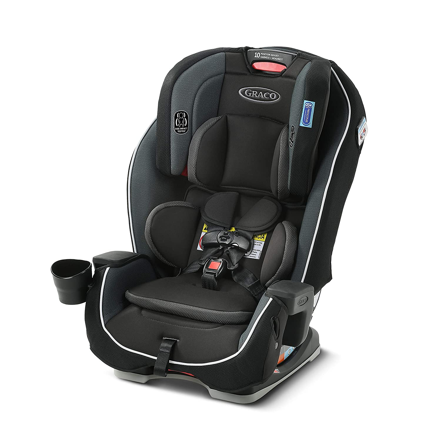 Milestone 3 in 1 Car Seat | Infant to Toddler Car Seat, Gotham