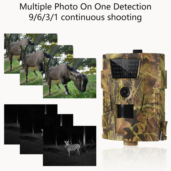 12MP 1080P Trail Hunting Camera forest camera Wild Surveillance HT001B Night Vision Wildlife Scouting Cameras Photo Traps Track