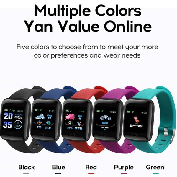Bluetooth Smart Watch Men Women Blood Pressure Monitor Waterproof Fitness Tracker Bracelet Heart Rate Smartwatch For Android IOS