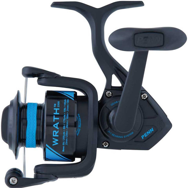 Original New Style PENN WRATH 2500-8000 Spinning Fishing Reel 2+1 BB Lightweight and corrosion-resistant graphite body