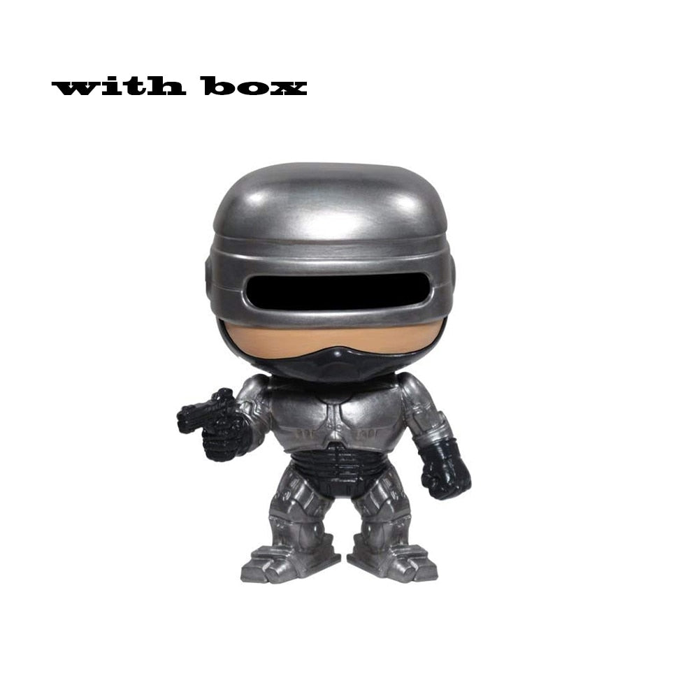 Robocop 22#  POP Vinyl Action Figures brinquedos Collection Model Toys for Children gift with box (22  with box)
