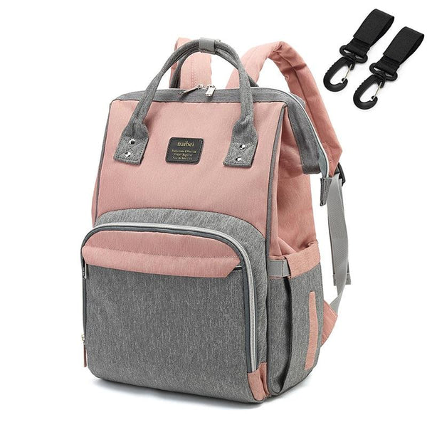Fashion Mummy Maternity Diaper Bag Large Nursing Bag Travel Backpack Designer Stroller Baby Bag Baby Care Nappy Backpack