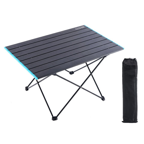 HooRu Portable Garden Table Picnic Camping Hiking Folding Table Outdoor Backpacking Fishing Lightweight Tourist Desk for Travel