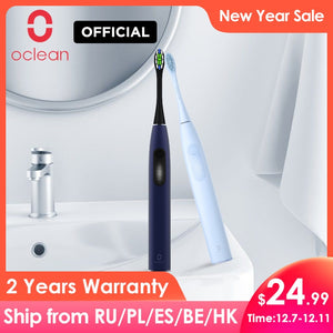 Global Version Oclean F1 Sonic Electric Toothbrush IPX7 Waterproof Smart Toothbrush Fast Charging Three Brushing Modes for Adult