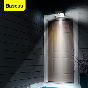 Baseus Solar Energy LED Outdoor Solar Light Motion Sensor Wall Light Lamps Waterproof Solar Garden Landscape Lawn Lamp Sun Light