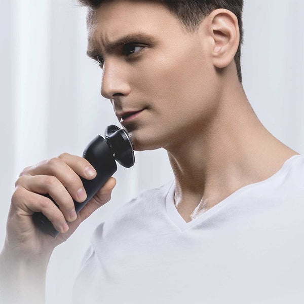 Xiaomi Mijia Electric Shaver Razor Shaving Beard Machine for Men Dry Wet Beard Trimmer Rechargeable washable 3D head Dual Blades