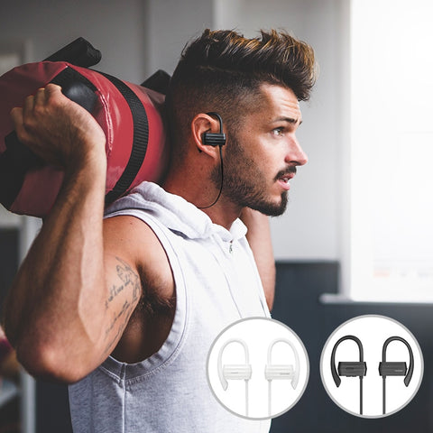GGMM W600 Sport IPX4 Waterproof Wireless Headphones 6 Hours Play Time Bluetooth Earphone With Mic Auriculars Running Headphones