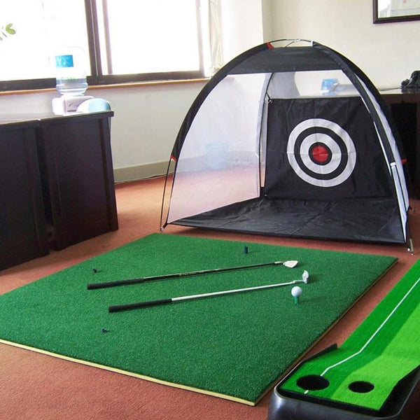 1/2M Golf Cage Detachable Practice Hitting Net With Carry Bag Golf Target For Indoor Outdoor Sports Golf Training Dropshipping