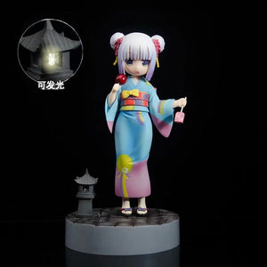Miss Kobayashi's Dragon Maid Kanna Kamui Action Figure 1/8 scale painted figure Kimono Version PVC figure Toy Brinquedos Anime