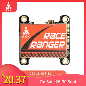 AKK Race Ranger 5.8G Long Range Transmitter VTX FPV 200mW/400mW/800mW/1600mW Switchable Transmitter Support Smart Audio