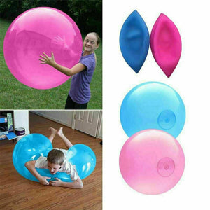 1Pc Children Outdoor Soft Air Water Filled Bubble Ball Magic Giant Balloon Toy Fun Party Game Summer For Kids Inflatable Gift
